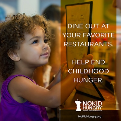 NKH1 September is No Kid Hungry Month: Make a Reservation to Help End Childhood Hunger