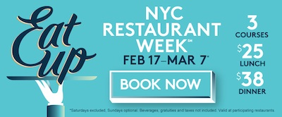 NYRW 2014 Take a Bite out of the Big Apple During NYC Restaurant Week