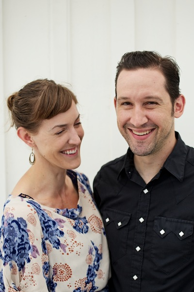 todd and jess close up Jessica Maher of Lenoir on Balancing a Life in Food with Family Life