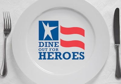Dine Out for Heroes New York Restaurants: Sign up Today to Support Dine Out for Heroes on November 5th