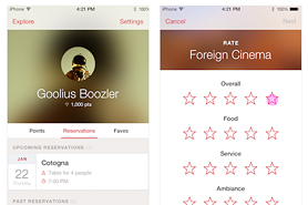 New on OpenTable Mobile: Review Restaurants on Your iPhone for the First Time