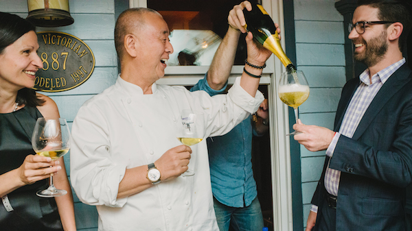 Scenes from the OpenTable Aspen Food & Wine Classic Champagne + Sushi Party #FWClassic
