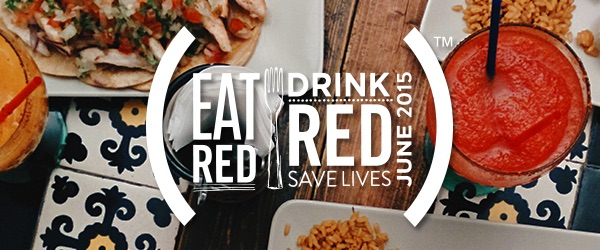 Help #86AIDS with EAT (RED) DRINK (RED) this June