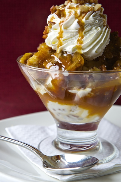 The Clam Cinnamon Bun Sundae