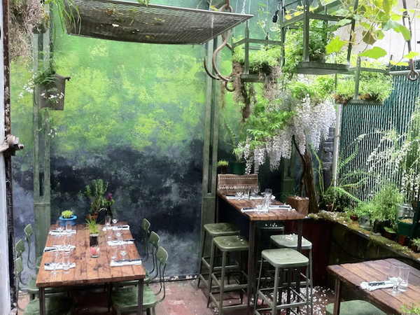 Indoor Garden Restaurant Nyc Secret nyc restaurant gardens the best backyard lairs blog edi the wolf copy workwithnaturefo