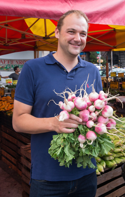 Is it a coincidence that chef Humm chose French breakfast radishes after his run-in with Jean-Georges? We think not.
