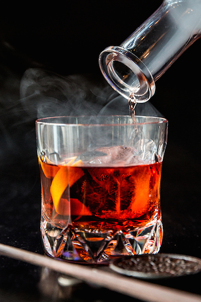 Blog Hakkasan smoky negroni copy
