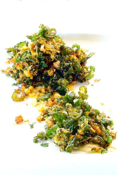 Blog The Herb Box Restaurant KALE, CORN and SWEET ONION PAKORA copy