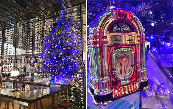 Festive nyc restaurants with dazzling holiday decorations