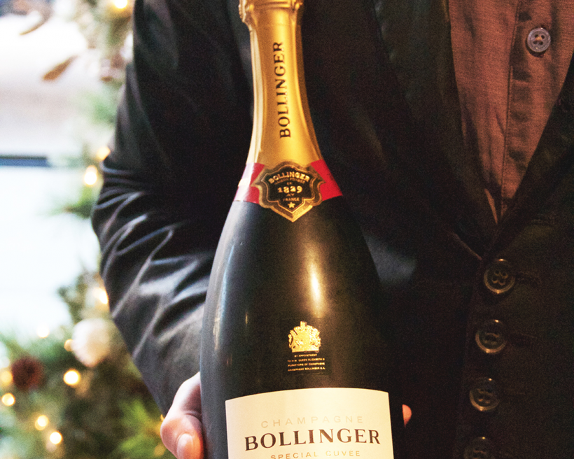 Watch: How to Saber a Champagne Bottle