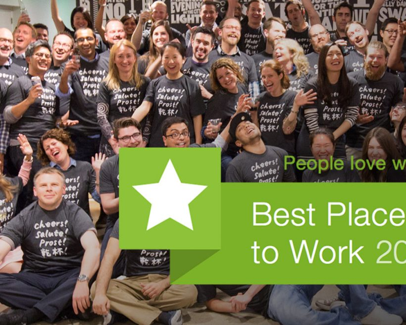 OpenTable Named a Glassdoor Best Places to Work 2016, Wins Employees' Choice Award