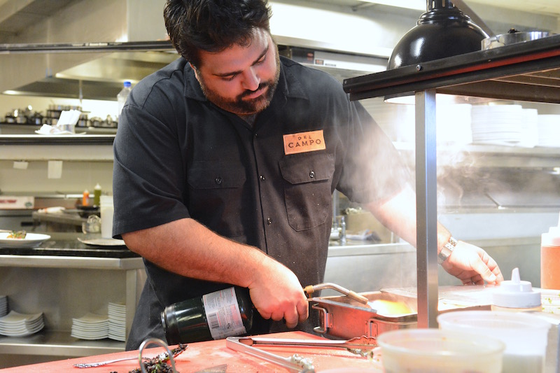 Playing with Fire: Backstage at Smokin' South American Steakhouse Del Campo with Chef Victor Albisu