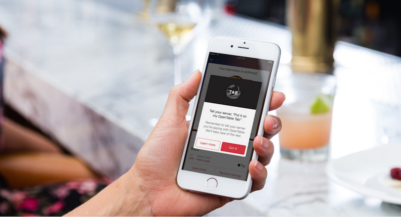 OpenTable Tab Now Lets LA Diners Put It on Their Tab