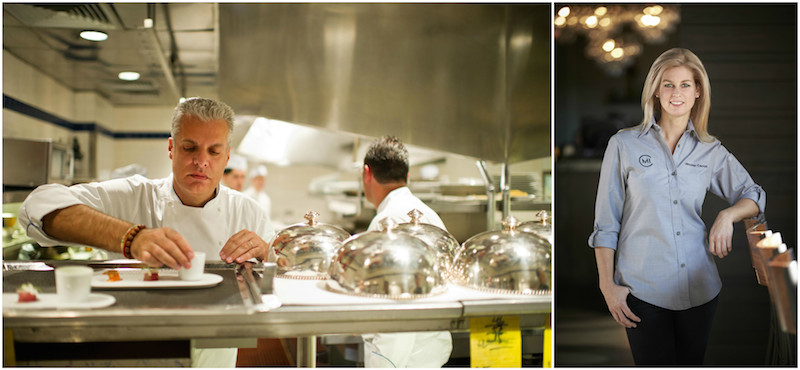 talking at the pass  chefs eric ripert and jennifer carroll