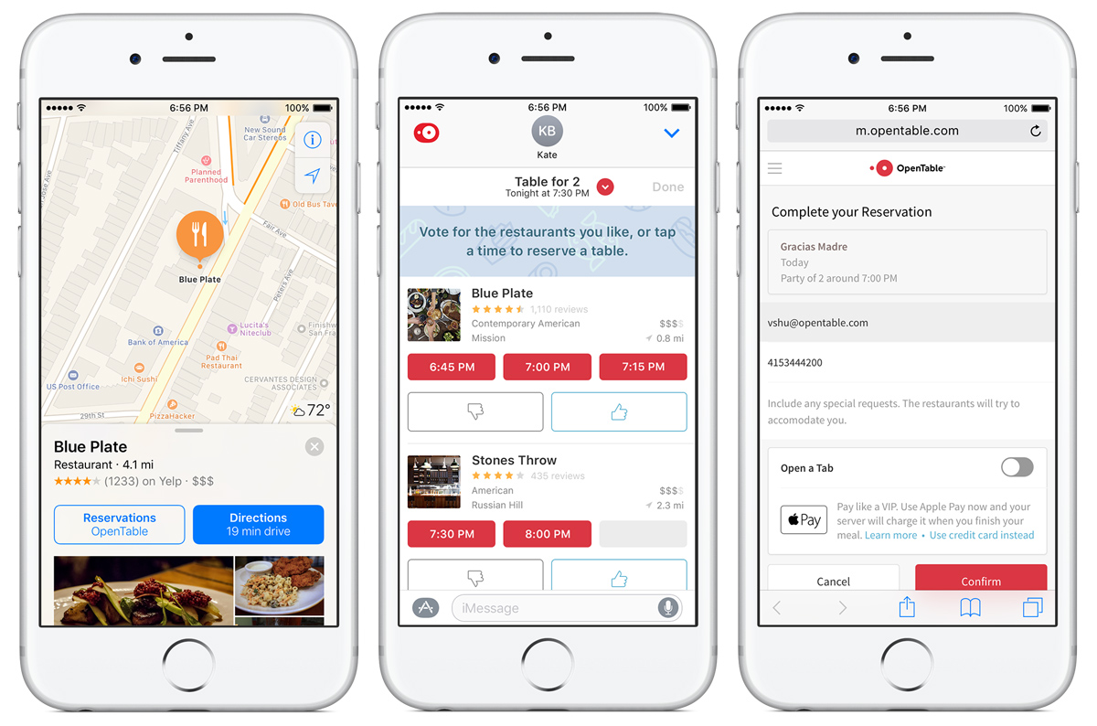 OpenTable For IOS New Ways To Book Connect And Pay - Table reservation app
