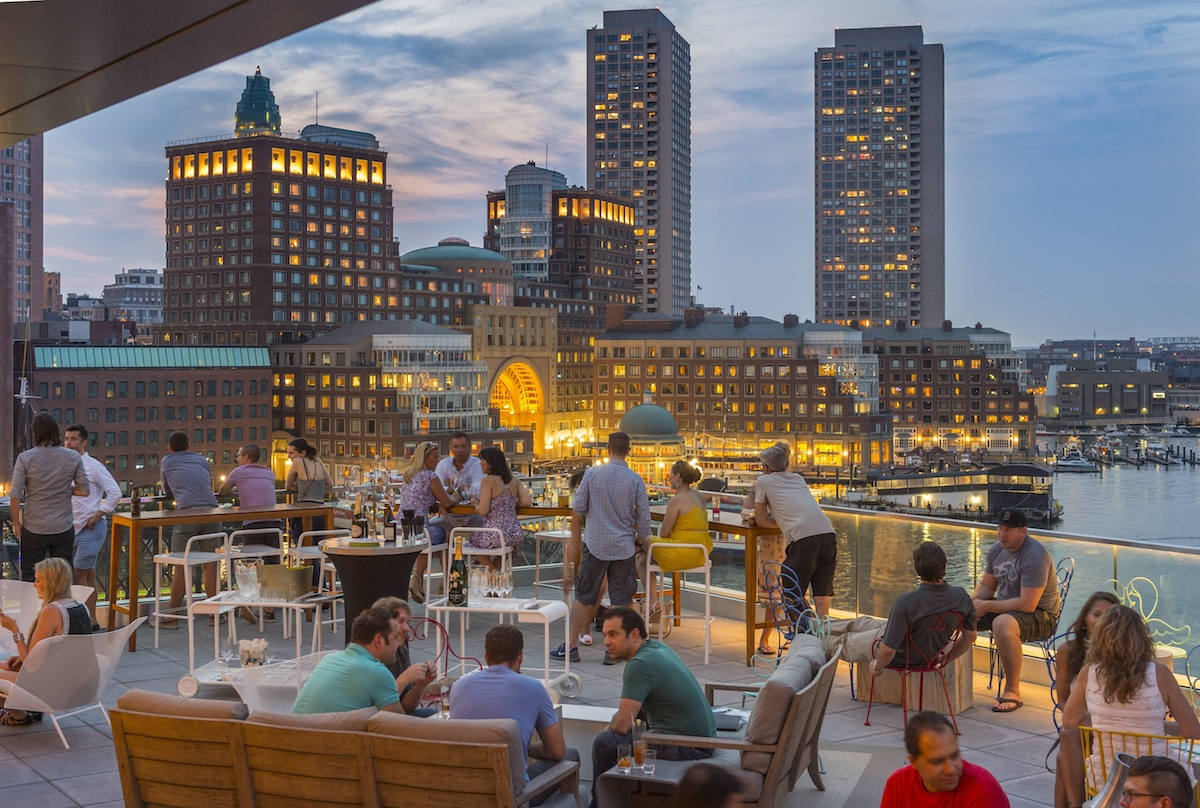 Top Boston Rooftop Bars: Where to Sip + Soak in the City ...