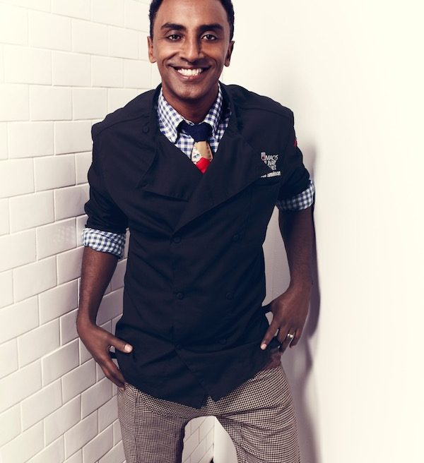 Chef Marcus Samuelsson Talks Red Rooster Harlem, His New Cookbook + More