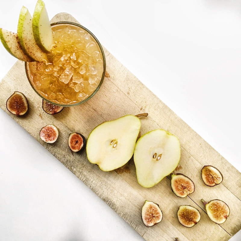 fig drinks + dishes