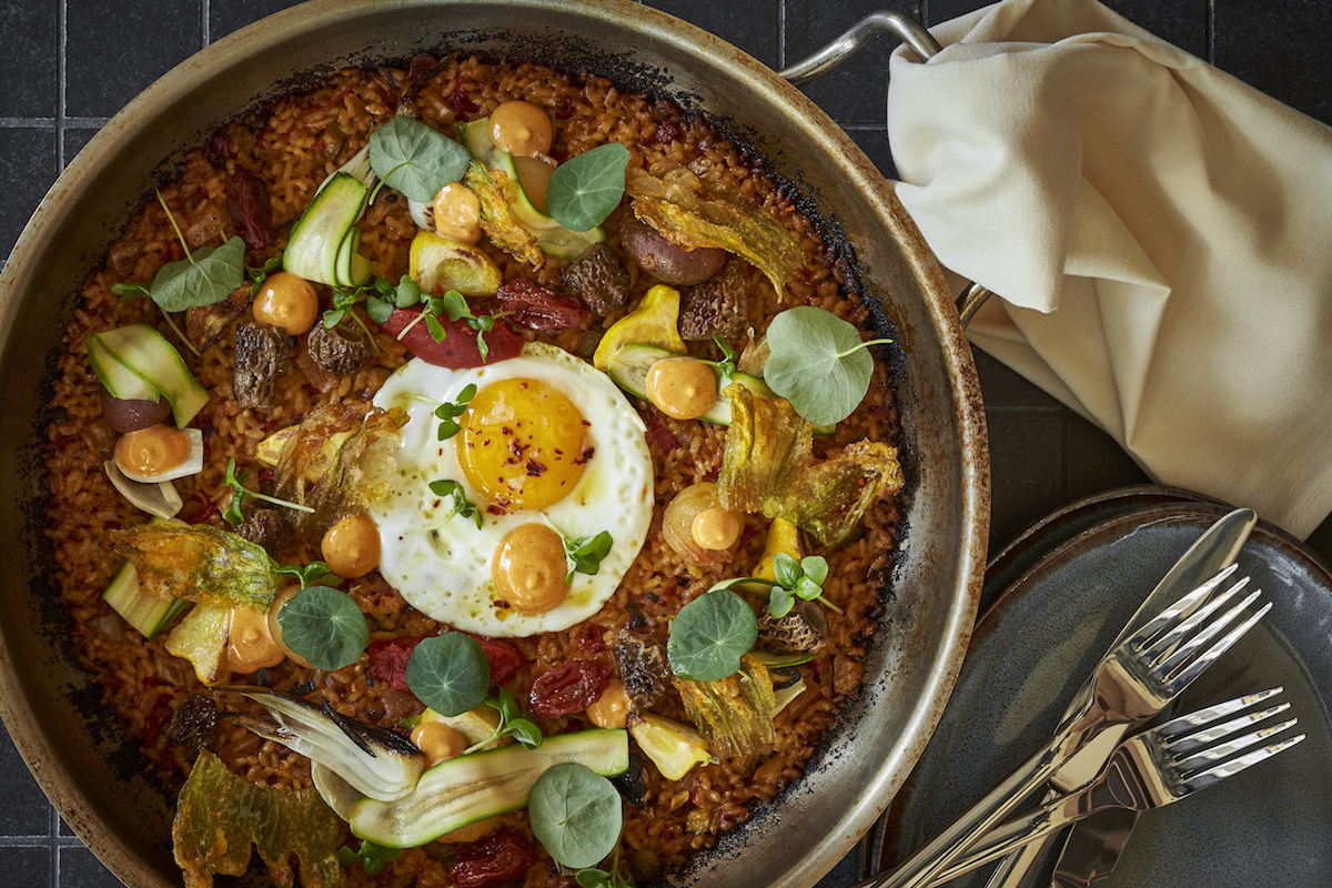 Inside Mike Isabella's Arroz: Bomba Rice, a Roving Snack Cart + Sangria On Tap
