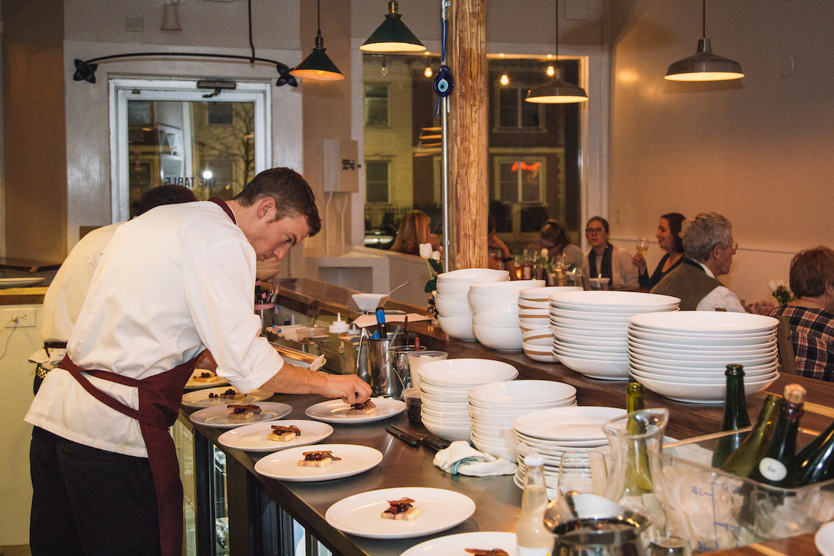Tasting Kitchen Open Table Millennial Dining How The Share Generation Is Shaping The