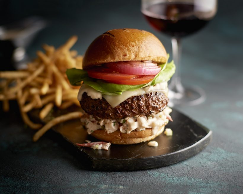over-the-top burgers