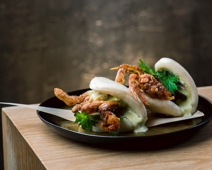 soft-shell crab dishes