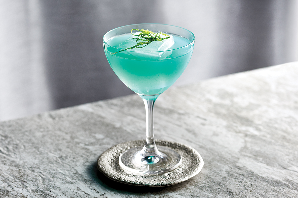8 Cool Cobalt Cocktails To Help Chase Your Blues Away