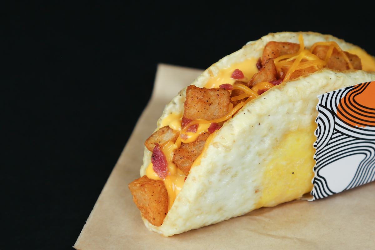 Live Mas! Book a Table at Taco Bell to Be Among the First to Taste the Naked Egg Taco