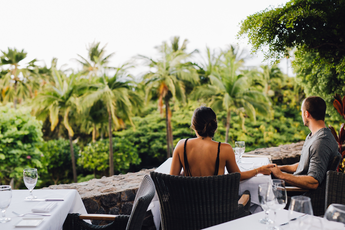 romantic hawaii restaurants