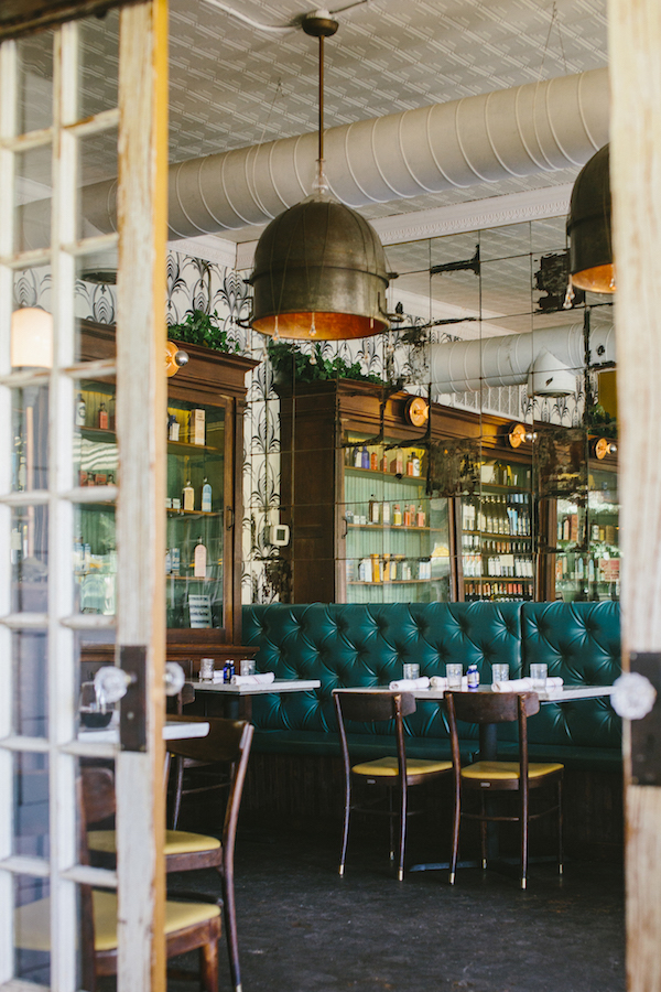 restaurants in converted spaces