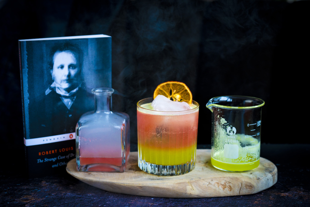 cocktails inspired by books