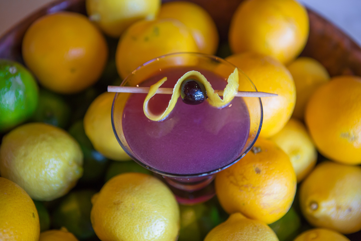 top purple cocktails