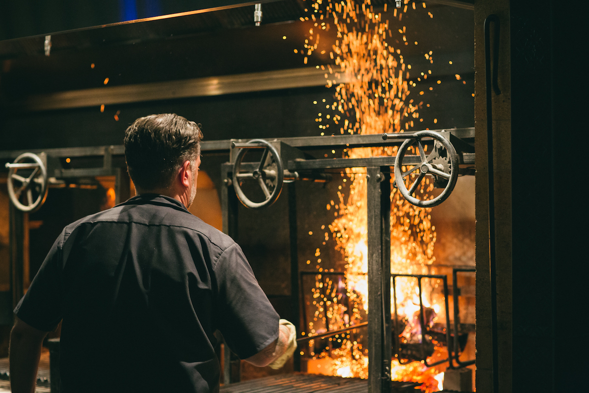 Eternal Flames 9 Restaurants For Open Hearth Cooking