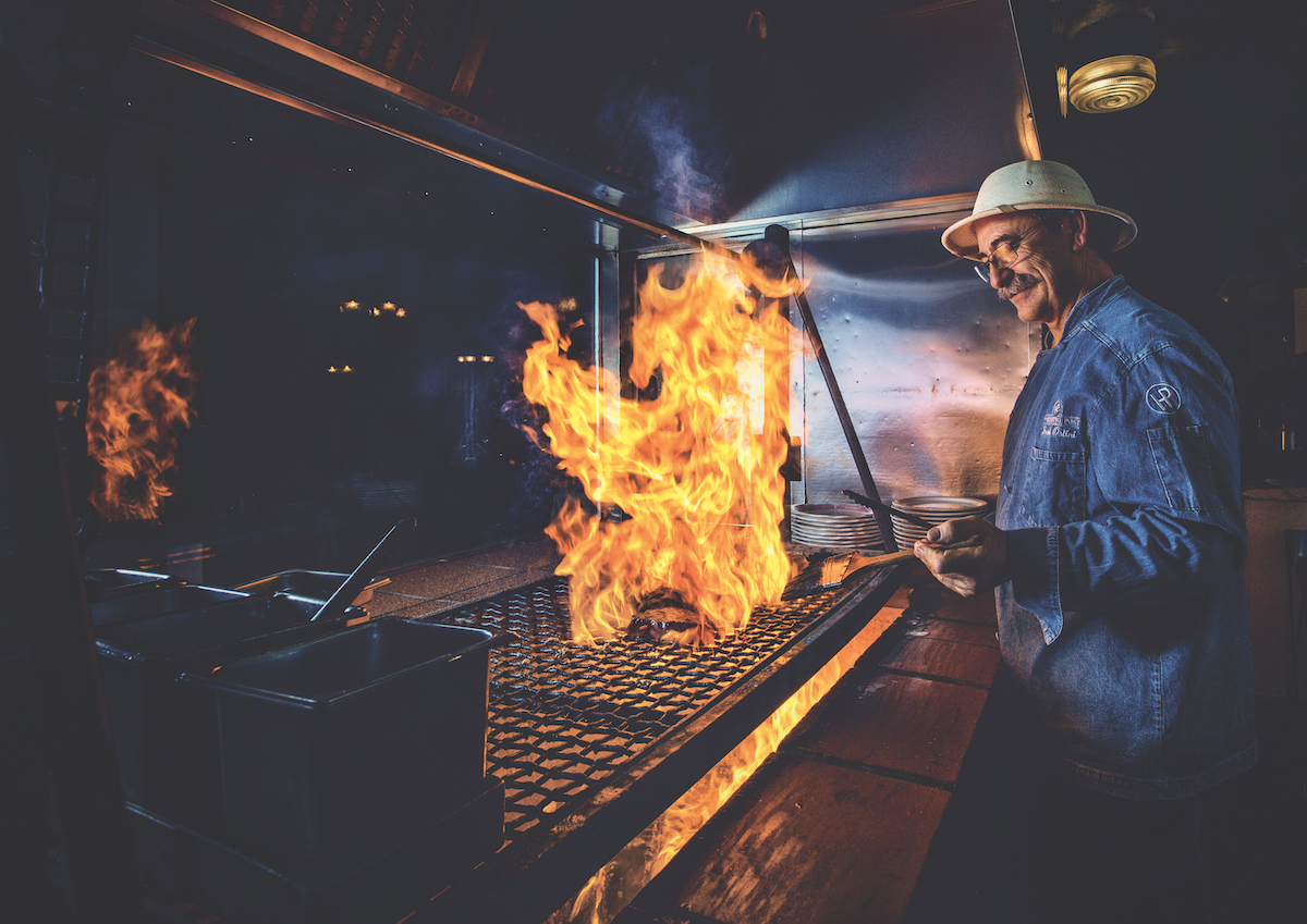 restaurants for open hearth cooking