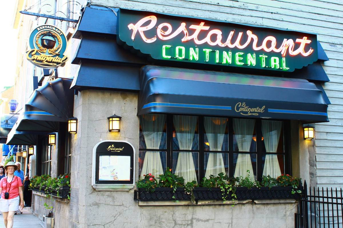 classic Quebec City restaurants