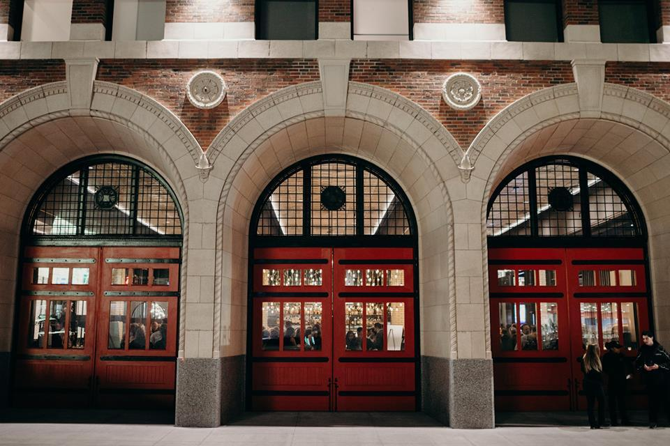 restaurants in firehouses