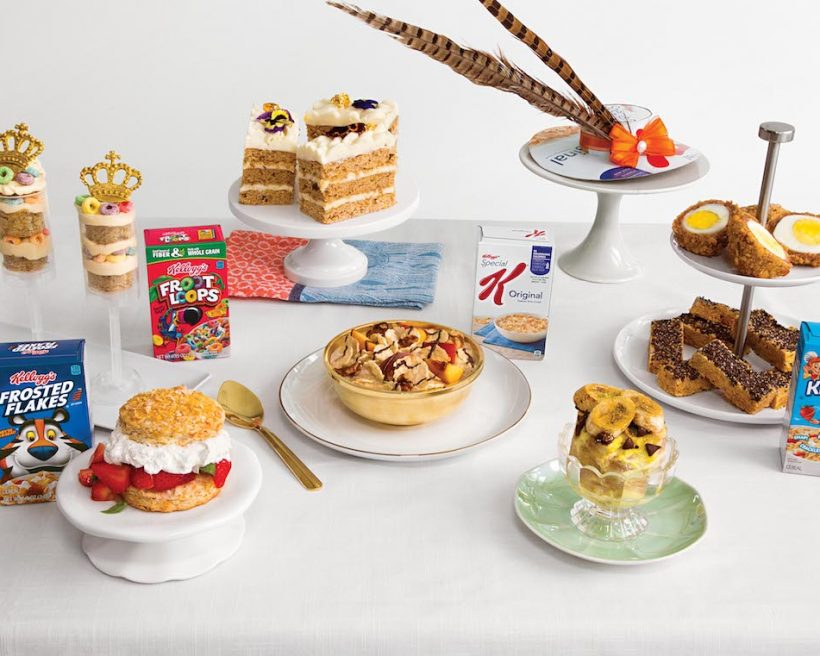 Attend the Kellogg's® One-of-a-Kind Breakfast at the NYC Royal Wedding Viewing Party on 5/19
