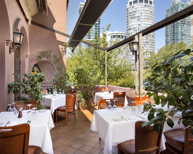 Welcome to Patio Season: 100 Best Restaurants for Outdoor Dining in Canada 2018 #OpenTable100