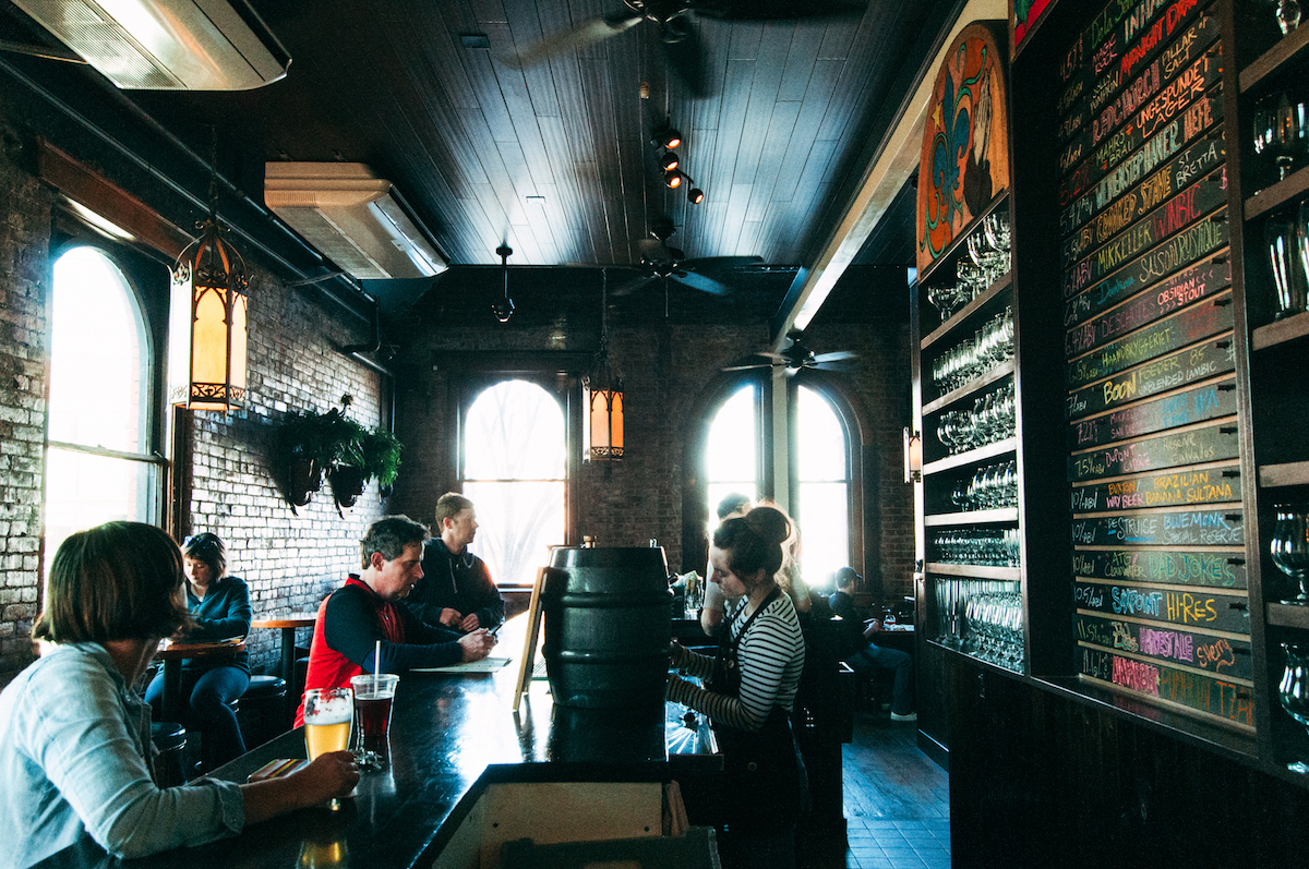 Restaurants in Reclaimed Spaces
