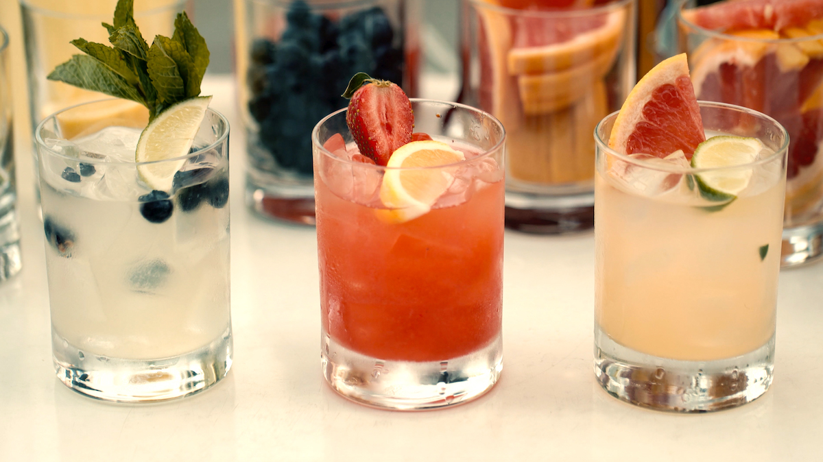 boozy lemonades