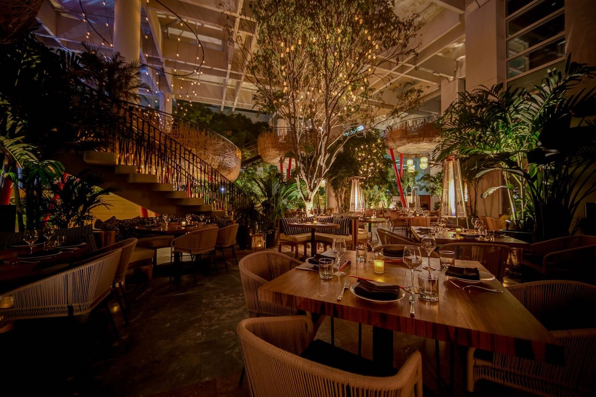 Restaurants with Secret Gardens