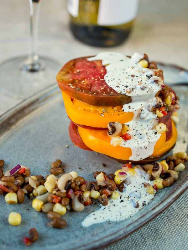 restaurants for heirloom tomatoes