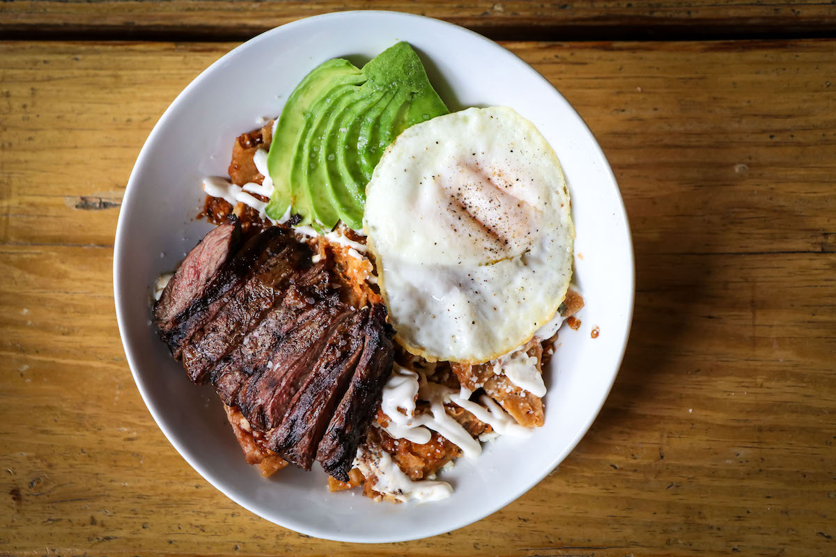 Restaurants for Chilaquiles
