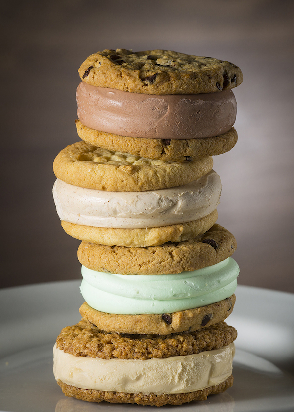 restaurants for ice cream sandwiches