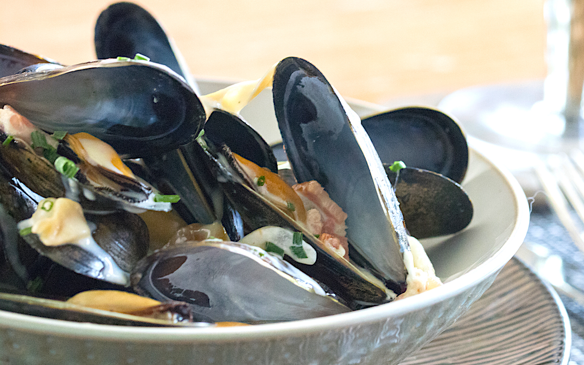 Prince Edward Island Restaurants for PEI mussels
