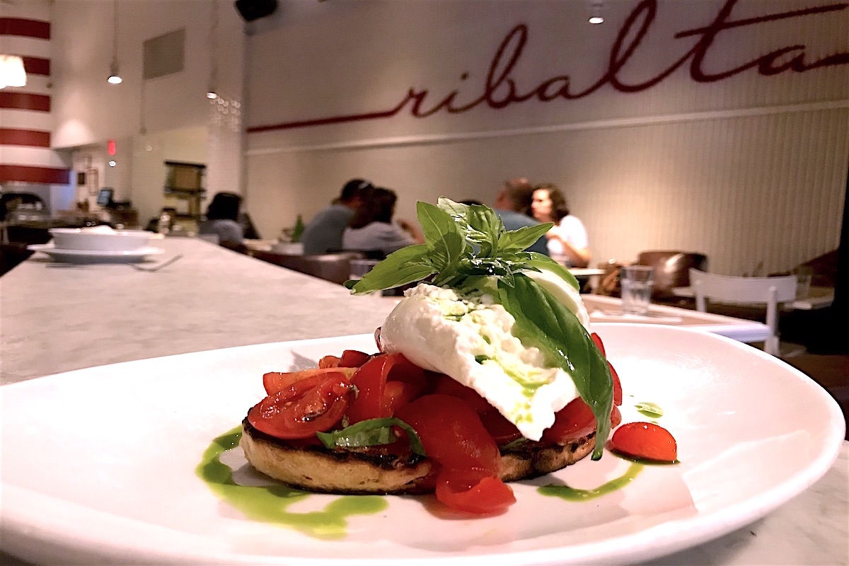restaurants for burrata