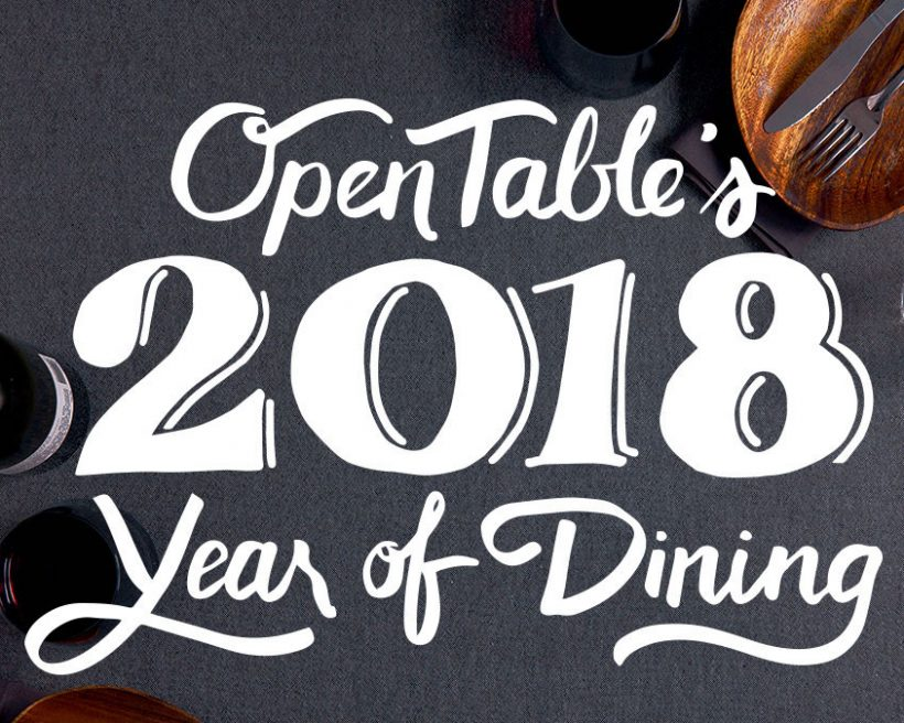 OpenTable Year in Review