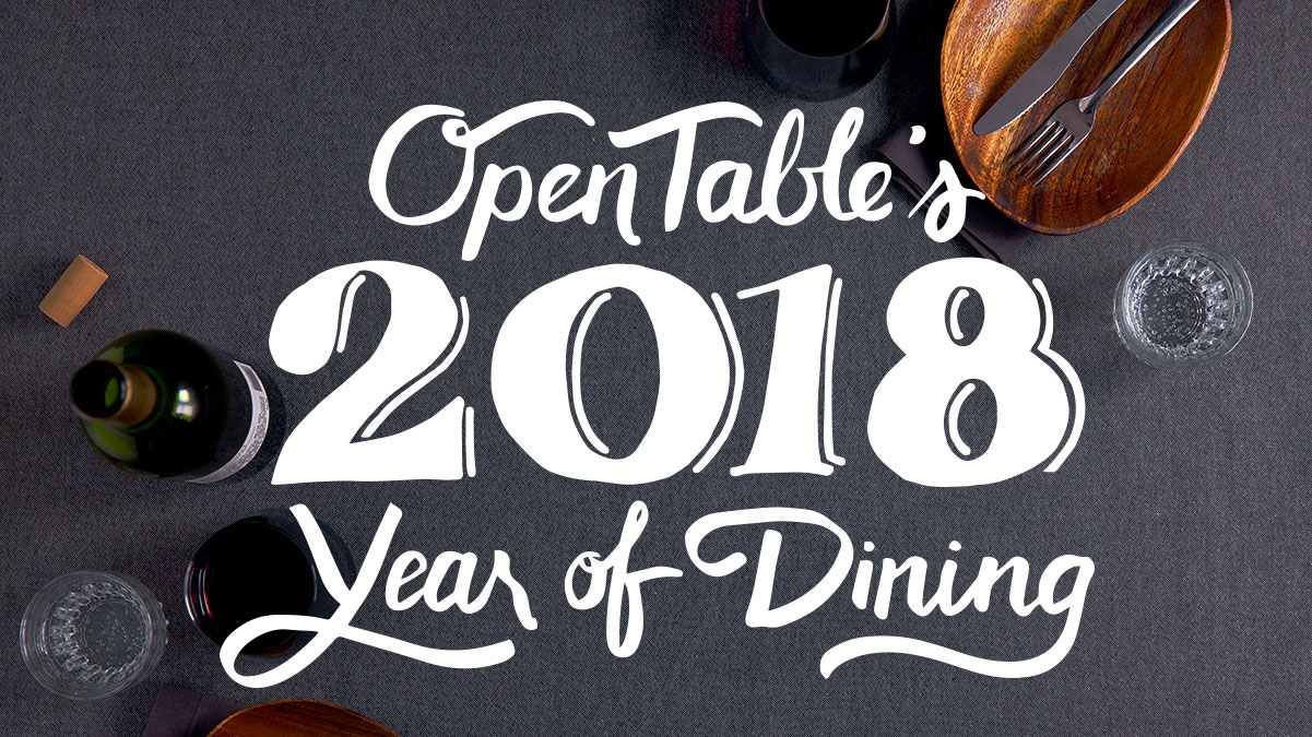 OpenTable Year of Dining 2018
