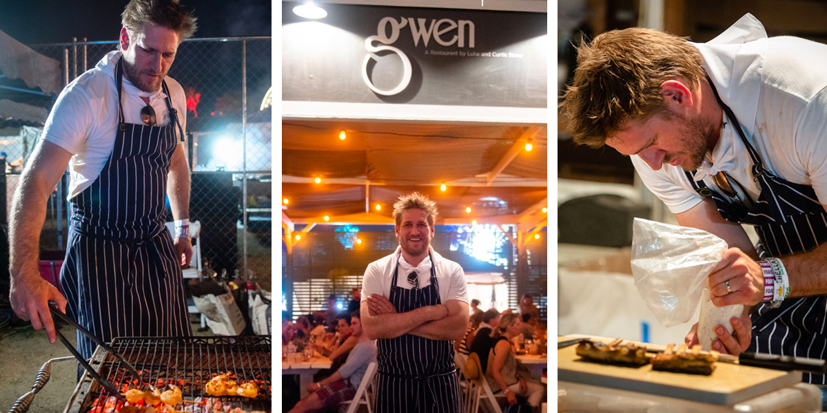 Chef Curtis Stone Pops Up with Gwen at Coachella: Book on OpenTable