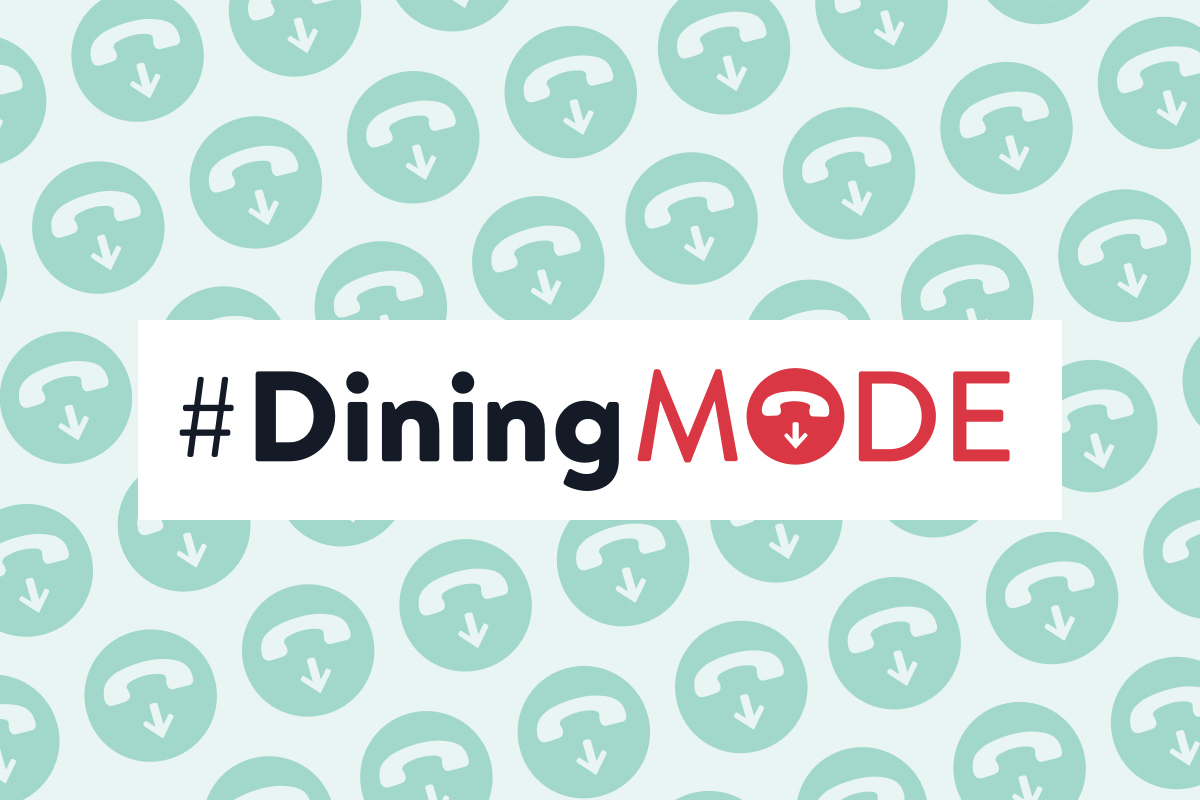 Get into #DiningMode on Mother's Day + Give Mom the Gift of Uninterrupted Conversation